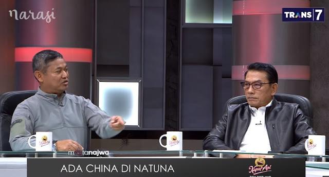 """China di Natuna, Kepala Bakamla: """"Kita Pakai Keris"""""""