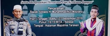 Hadirilah Tabligh Akbar dan Doa Bersama Dalam Rangka Peringatan 1 Muharram 1441H di Mapolres Tarakan