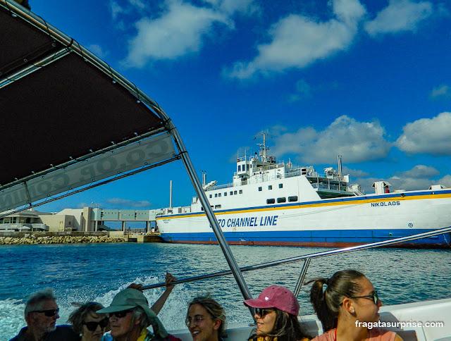 Porto de Cirkewwa, embarque para a Lagoa Azul de Malta