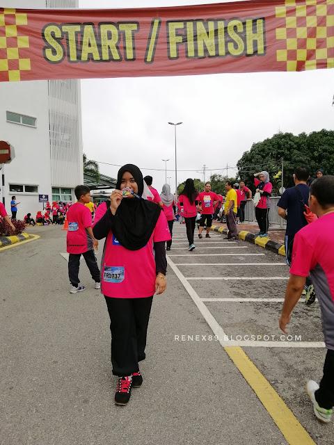 Lipis Fun Run 2018, World Sight Day 2018