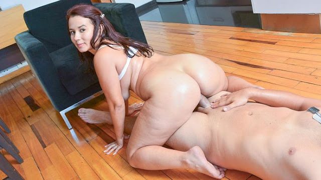 Angela Rodriguez - Eating Colombian salami