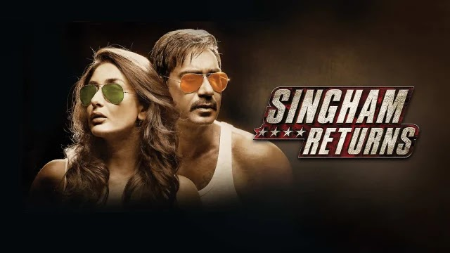 Singham Returns (2014) Bollywood Movie Online Play & Download