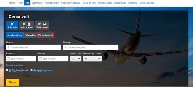 expedia viaggi low cost voli