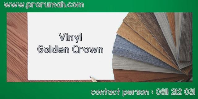 vinyl golden crown
