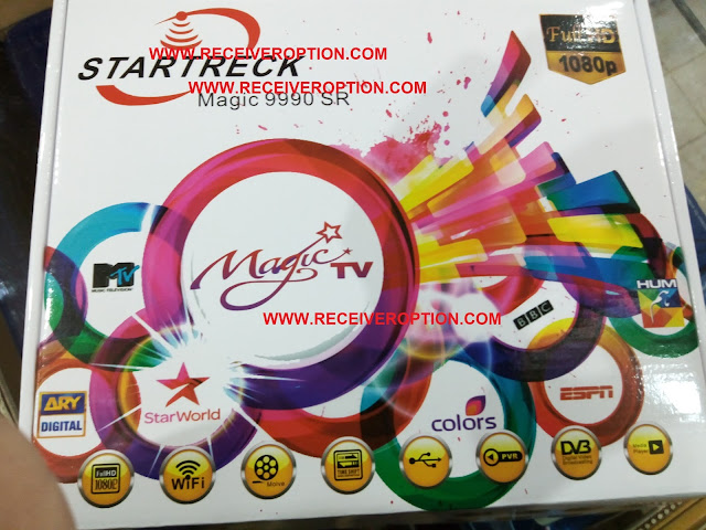 STARTRECK MAGIC 9990 SR HD RECEIVER FLASH FILE