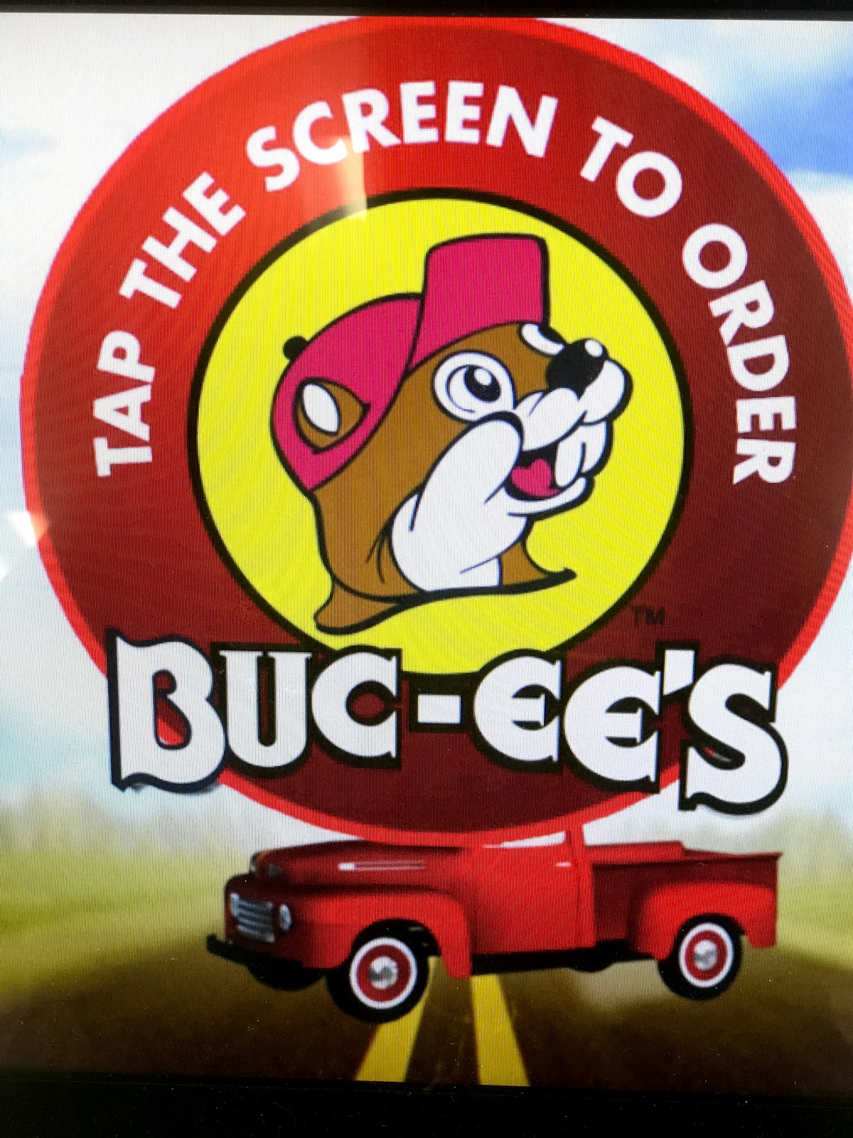 Image: Buc-ee's sign in store