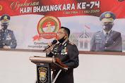 Polres Pinrang Menggelar Syukuran Hari Bhayangakara ke-74 di Aula Quick Wins