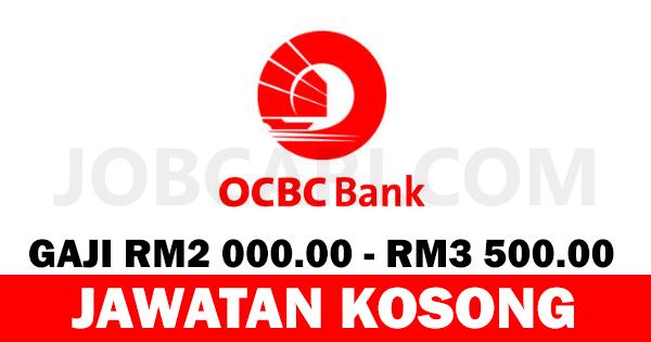 JAWATAN KOSONG OCBC BANK