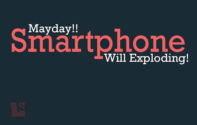 Ciri Smartphone Android meledak dan cara menghindarinya