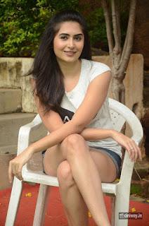 Vyoma Nandi Latest Stills at Marala Telupana Priya Team at Haritha Haram Event
