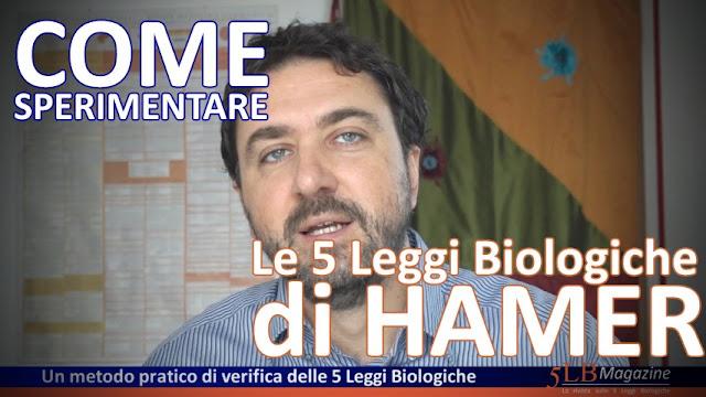 Come sperimentare le 5 Leggi Biologiche di Hamer