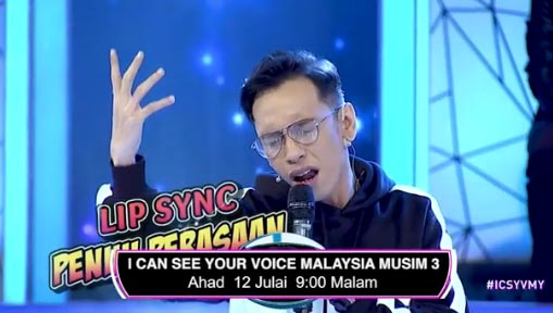 LIVE I Can See Your Voice Malaysia 3 Minggu 15 (12.7.2020).