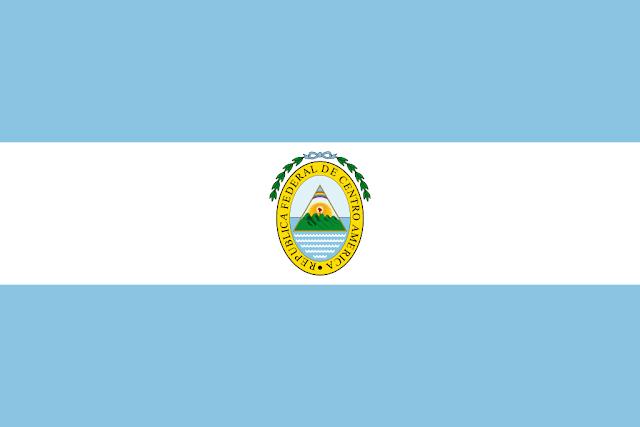 Bandera de la República Federal de Centro América