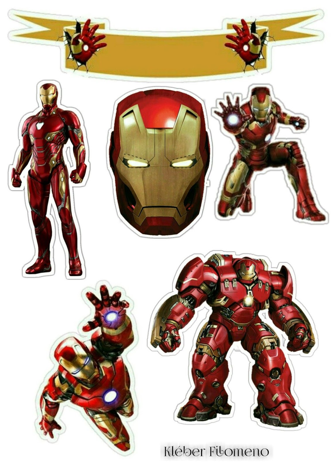 Iron Man Free Printable Cake Toppers Oh My Fiesta For Geeks