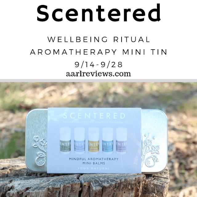 Scentered  Wellbeing Ritual Aromatherapy Mini Tin Giveaway