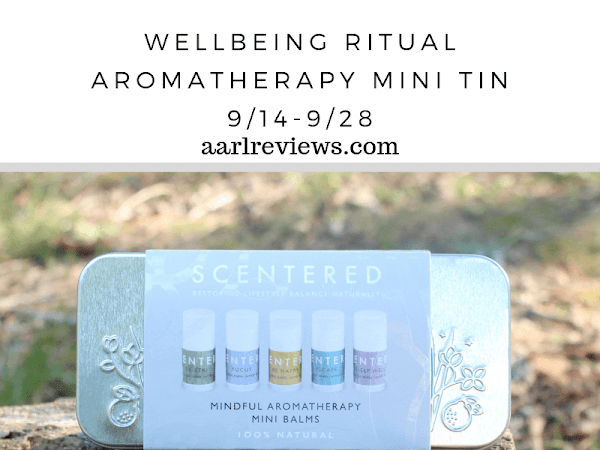 Scentered  Wellbeing Ritual Aromatherapy Mini Tin Giveaway