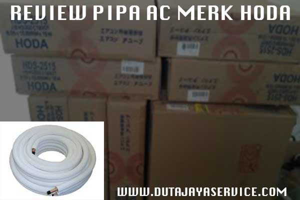 Review Pipa AC Merk HODA