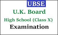 uttarakhand board 10th time table 2018 ubse.uk.gov.in high school exam scheme