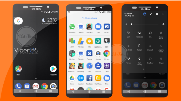 Download & Install Viper OS Zenfone Max Z010D, Wd-kira, how to download and install viper OS on Zenfone Max, stable custom rom 2017 zenfone max, custom rom support LTE, 4G, Volte Support