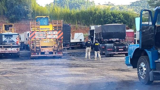 Atibaia (SP): PRF descobre irregularidades em pátio contratado e lacra atividades