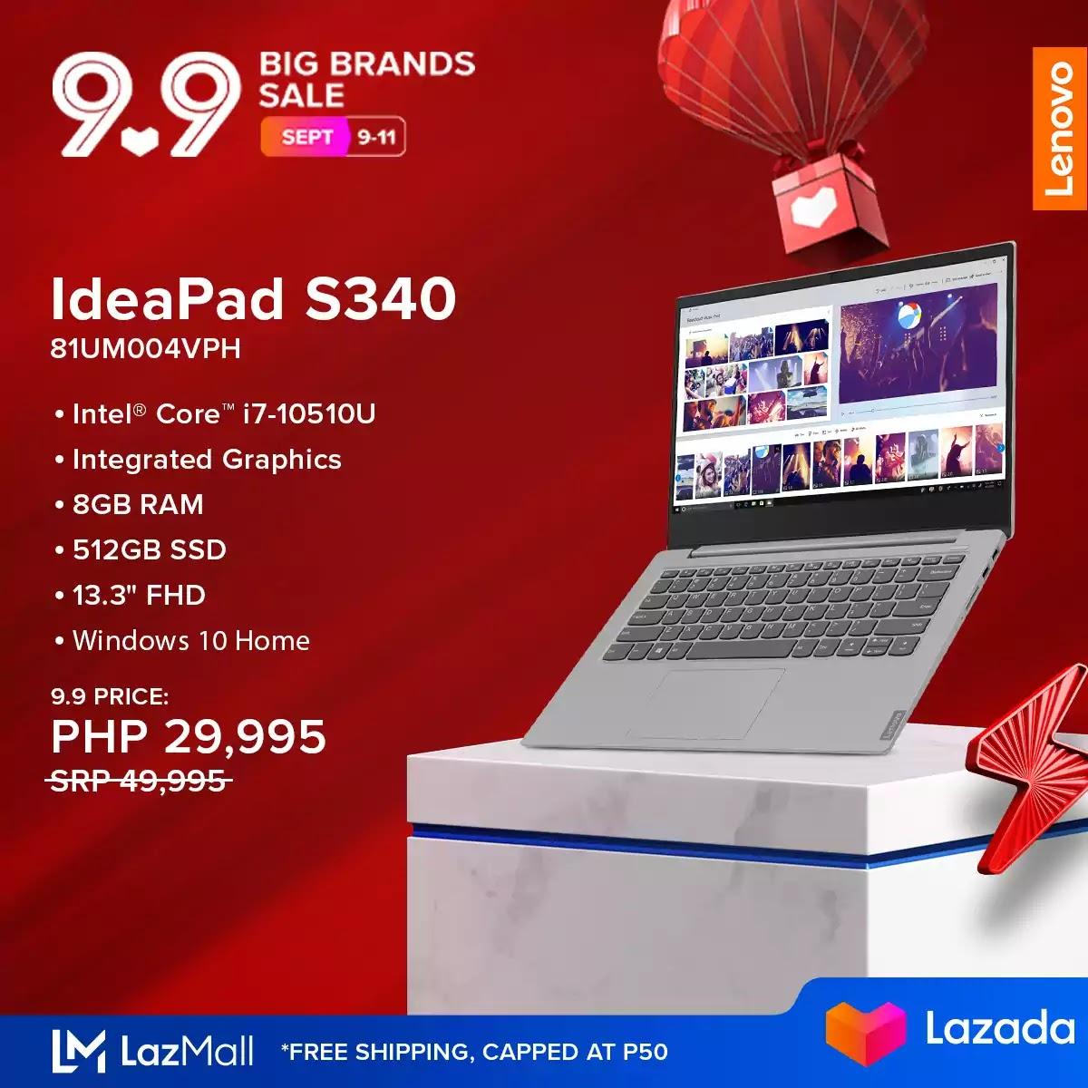 IdeaPad S340 81UM004VPH