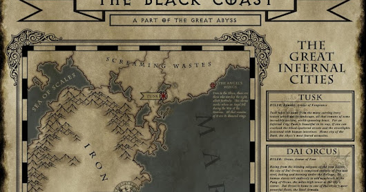 Black Coast Map