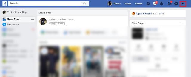 Cara Mengaktifkan Mode Gelap Facebook Pada Versi Desktop 2