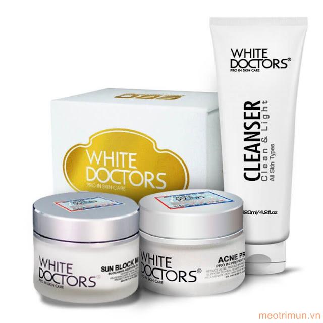 kem trị mụn White Doctors