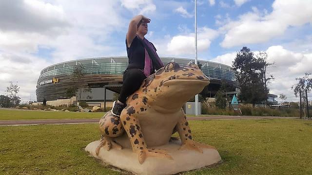 BIG Cane Toads | Chevron Parkland Public Art