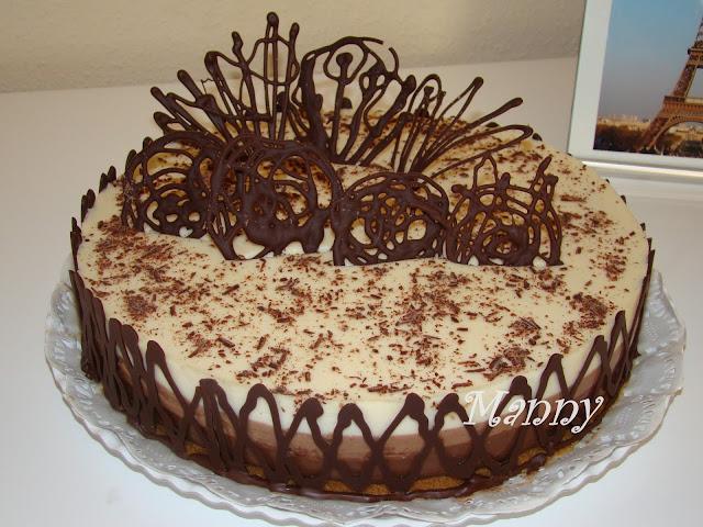 Tarta 3 Chocolates Sin Azúcar Añadido