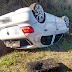 Policiais Ambientais prederam seis praticando furto de objetos em veículo capotado