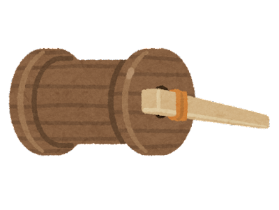 糸巻き戦車のイラスト