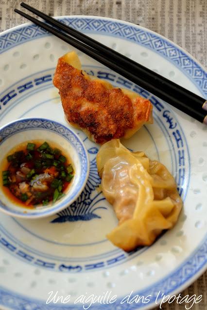 gyoza-raviolis-grillé-cuisine asiatique