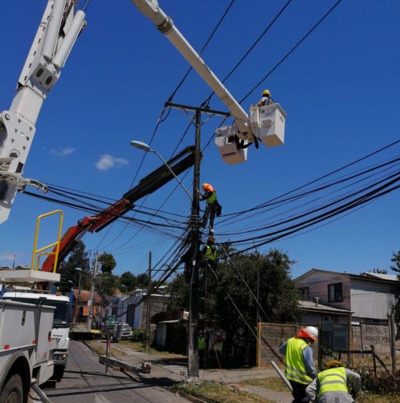 Saesa realizará trabajos de mantenimiento de líneas en Puerto Octay