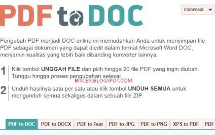 Cara Mengubah File PDF Ke Word Online Tanpa Software