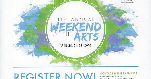 Weekend of the Arts...