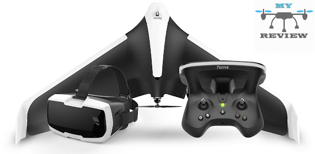 The bulk of drones inwards the marketplace seat correct at i time are either quadcopters or hexacopters Parrot DISCO FPV Review - Specs And Price