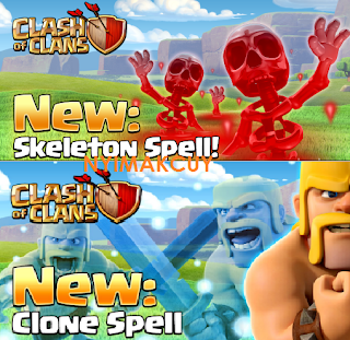 Clone Spell and Skeleton Spell