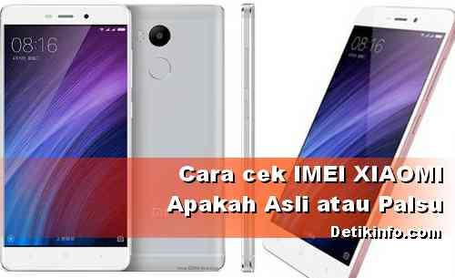 Cara Lihat IMEI Xiaomi Palsu atau Asli yang akurat