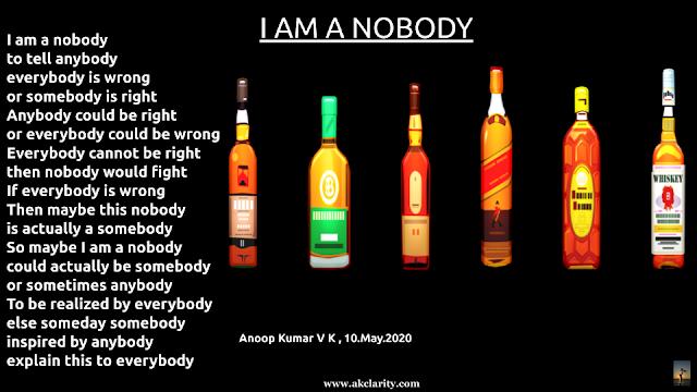 I am a nobody
