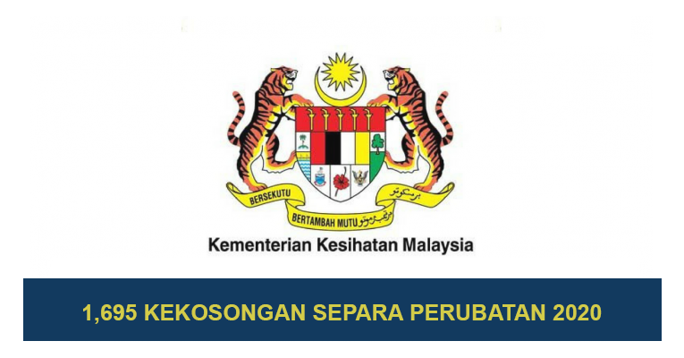 Kementerian Kesihatan Malaysia KKM - Pengambilan Tahun 2020