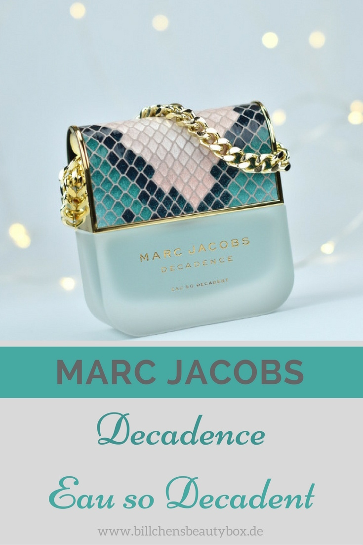 Marc Jacobs Decadence Eau so Decadent - Parfum Review