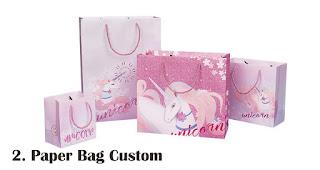 Paper Bag Custom merupakan salah satu jenis tas cantik untuk bingkisan ulang tahun anak