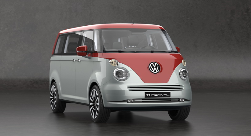 VW T1 Microbus Revival Concept Envisioned On T6 Platform | Carscoops