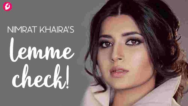 Lemme Check Lyrics Nimrat Khaira