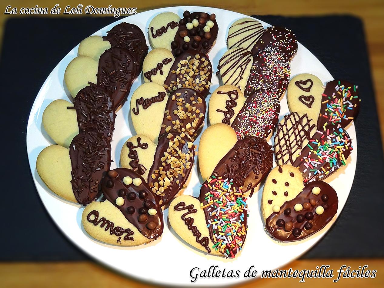 La Cocina De Loli Domínguez Galletas De Mantequilla Fáciles