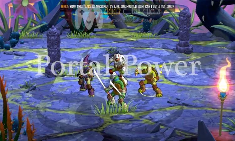 تحميل لعبة سلاحف النينجا للكمبيوتر جميع الاصدارات من ميديا فاير