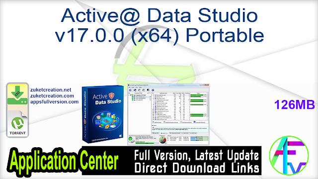 Active@ Data Studio v17.0.0 (x64) Portable