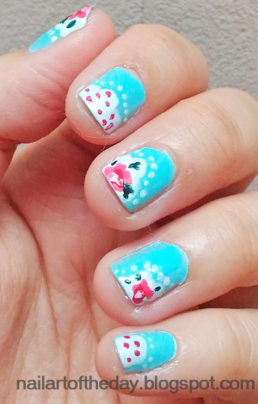 ✿ nail art of the day ✿