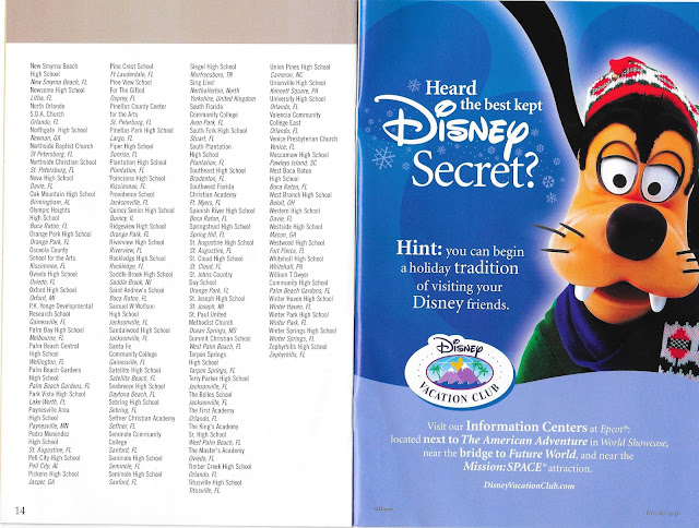 Epcot Holidays Around the World Guide Disney Best Kept Secret 2004